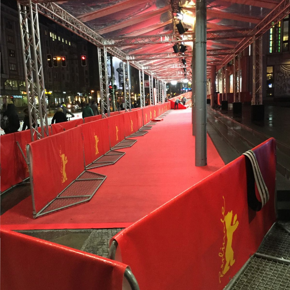 Berlin, Berlinale, Friedrichstadtpalast, Red Carpet