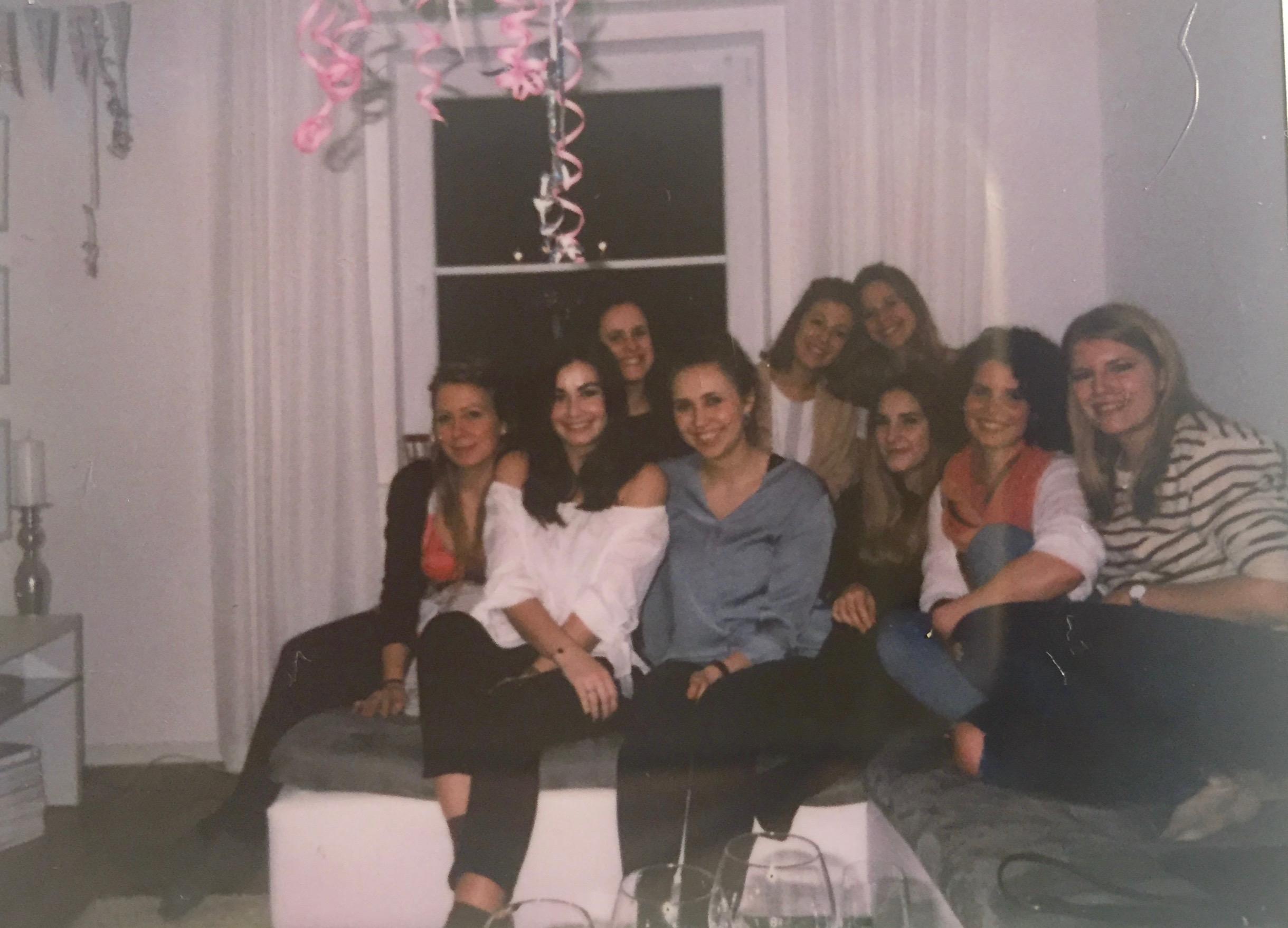 24th birthday, Geburtstag, home, party, friends, girls