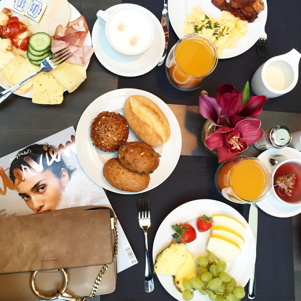 Amano Group, Hotel ZOE, Frühstück