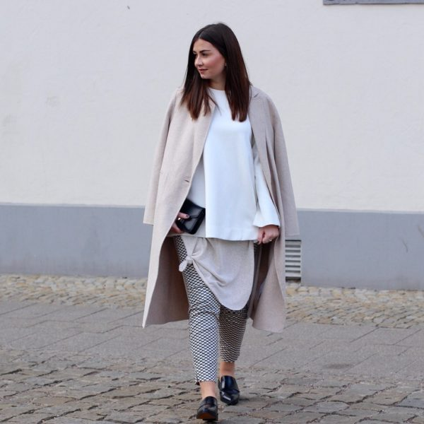 Proenza Shouler, beige coat, Mantel, Slipper