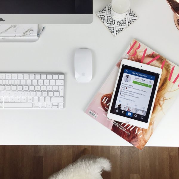 Workplace, Schreibtisch, Instagram, Hapers Bazar