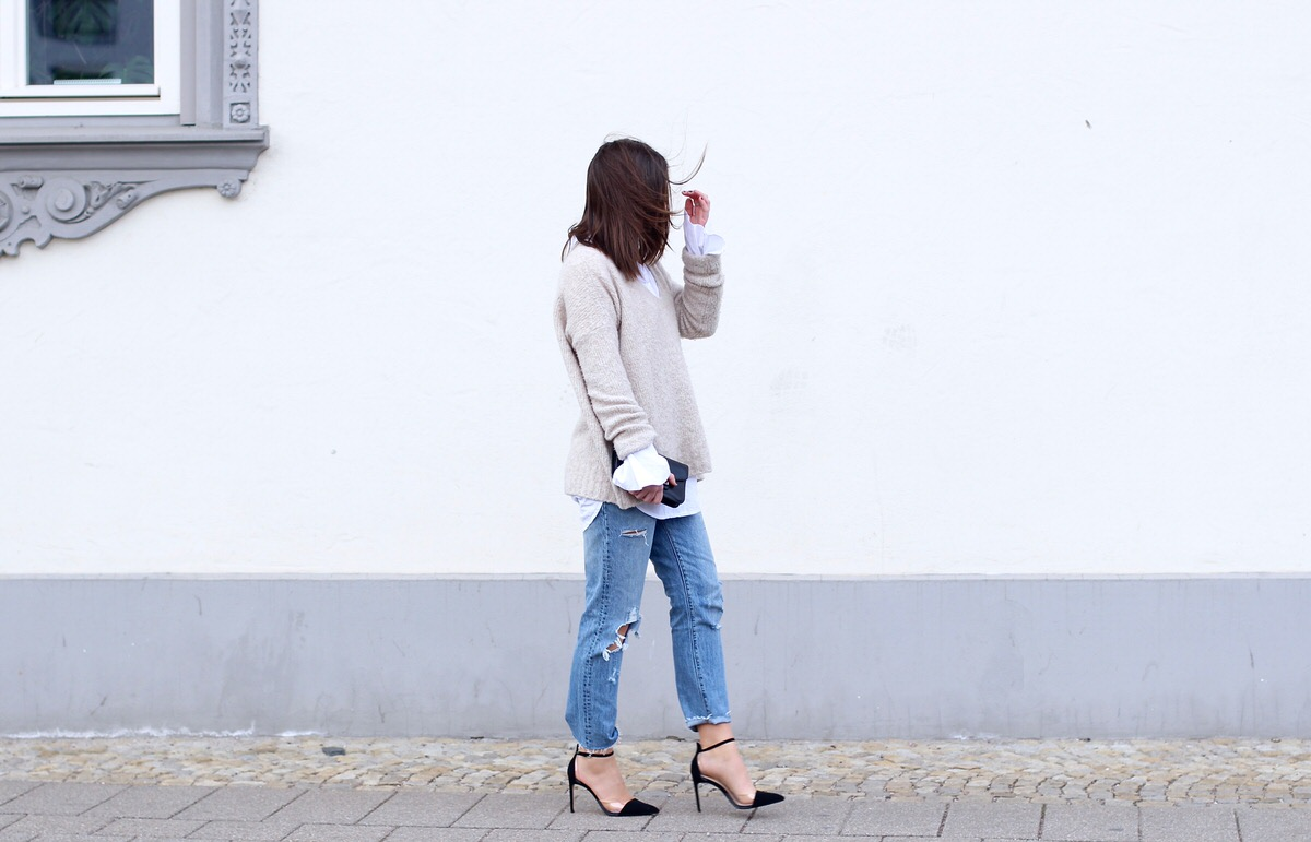 Levi's 501 CT Denim Jeans, Heels, Edited, Sweater, Proenza Schouler