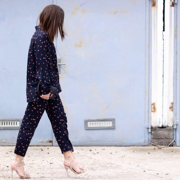 H&M Zweiteiler, Aquazzura Lace up Look alike, Proenza Schouler