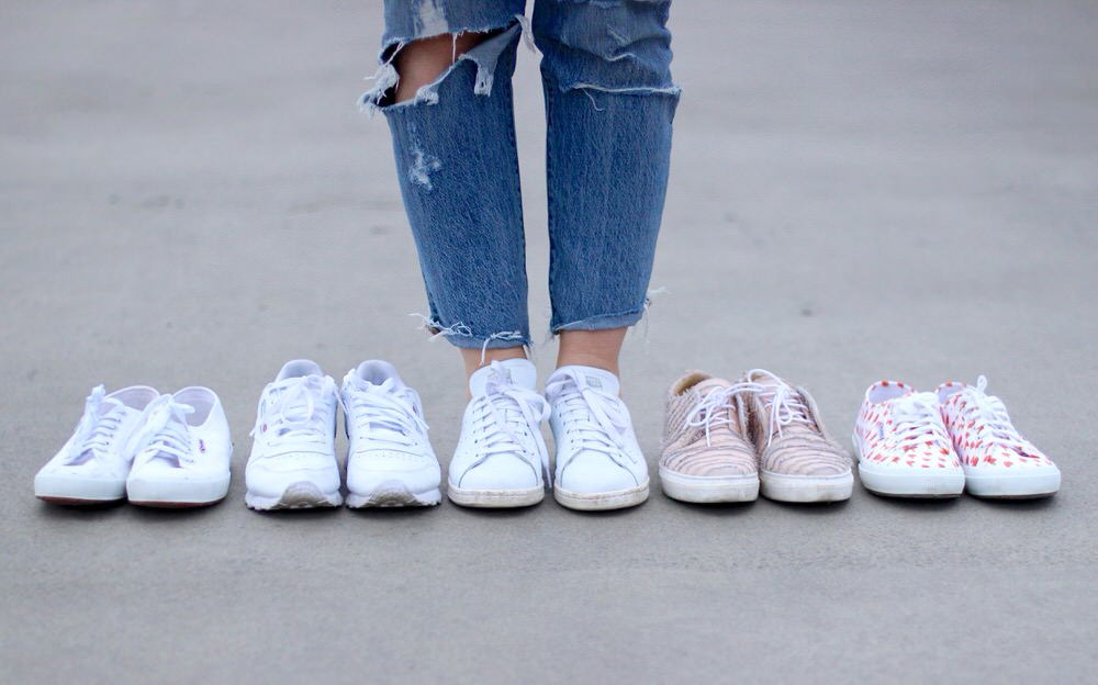 TOP 5 Sneaker, Adidas Stan Smith, Superga, Maruti, Reebok