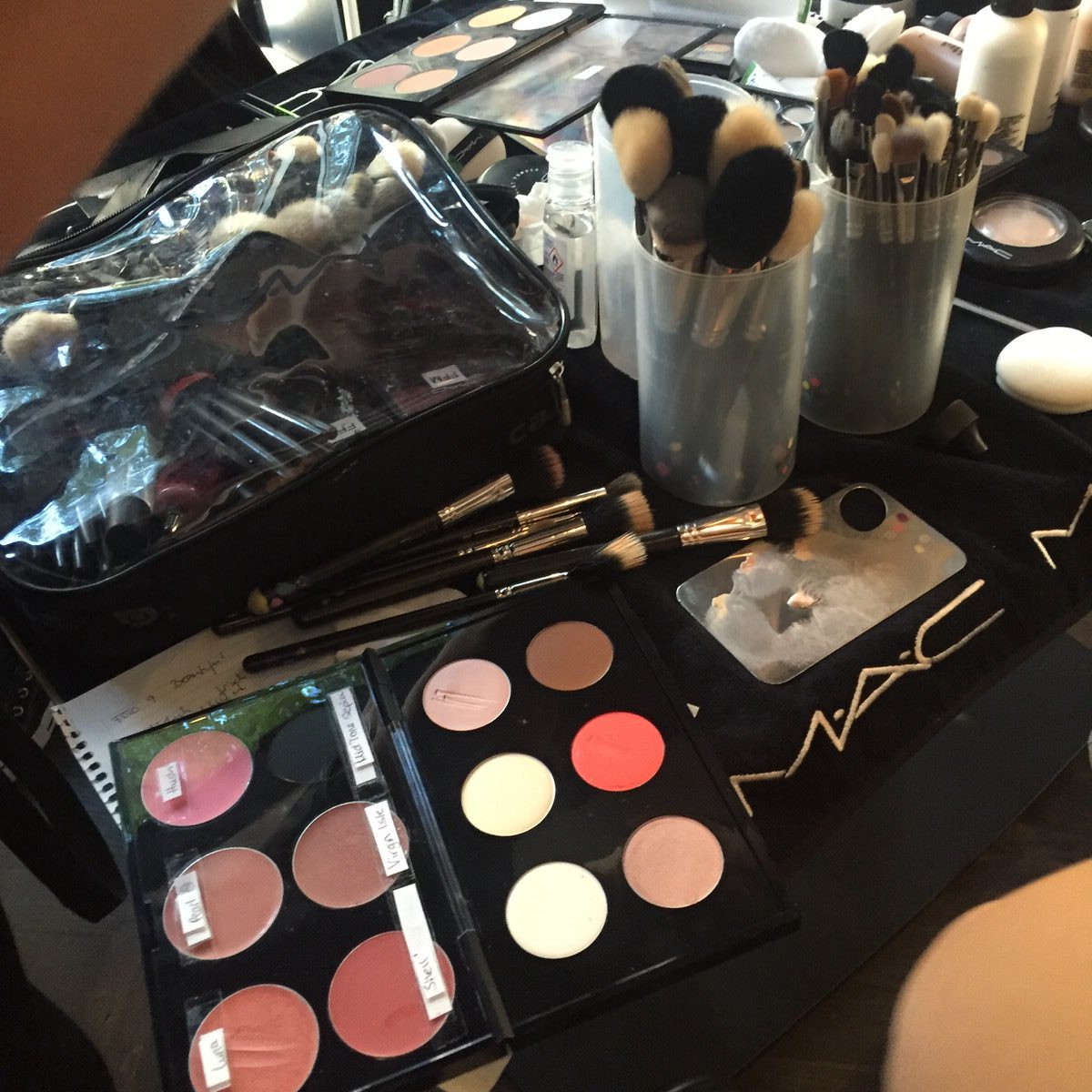 Fashion Week, Berlin, holyGhost, Backstage, MAC