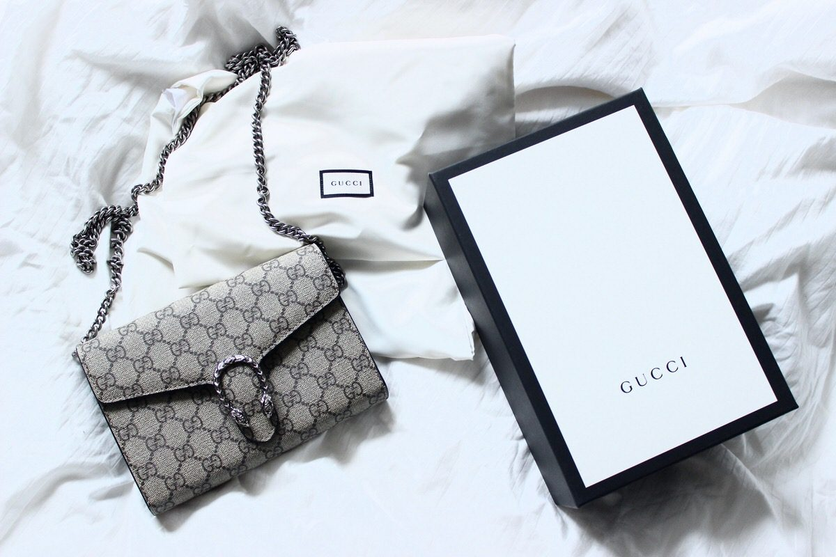 Gucci Dionysus GG Supreme Canvas Mini, Luisaviaroma