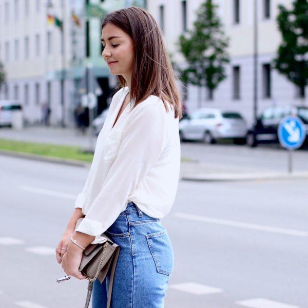 MAX&Co. Bluse, Chloé Faye, Berlin, Streetstyle, Chanel