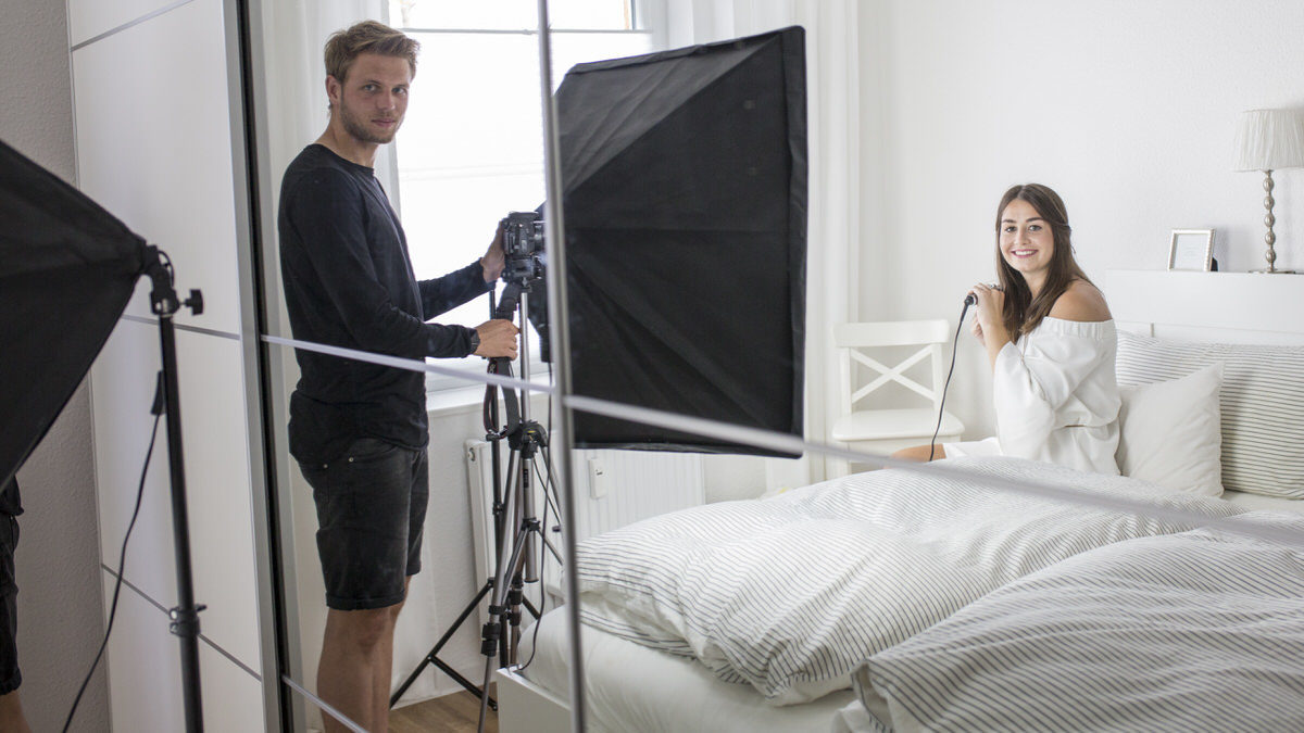 Bloggerin Veronique Sophie Schröter hat in den Sozialen Netzwerken über 80 000 Follower. Eine exklusive Homestroy mit der 24-Jährigen.