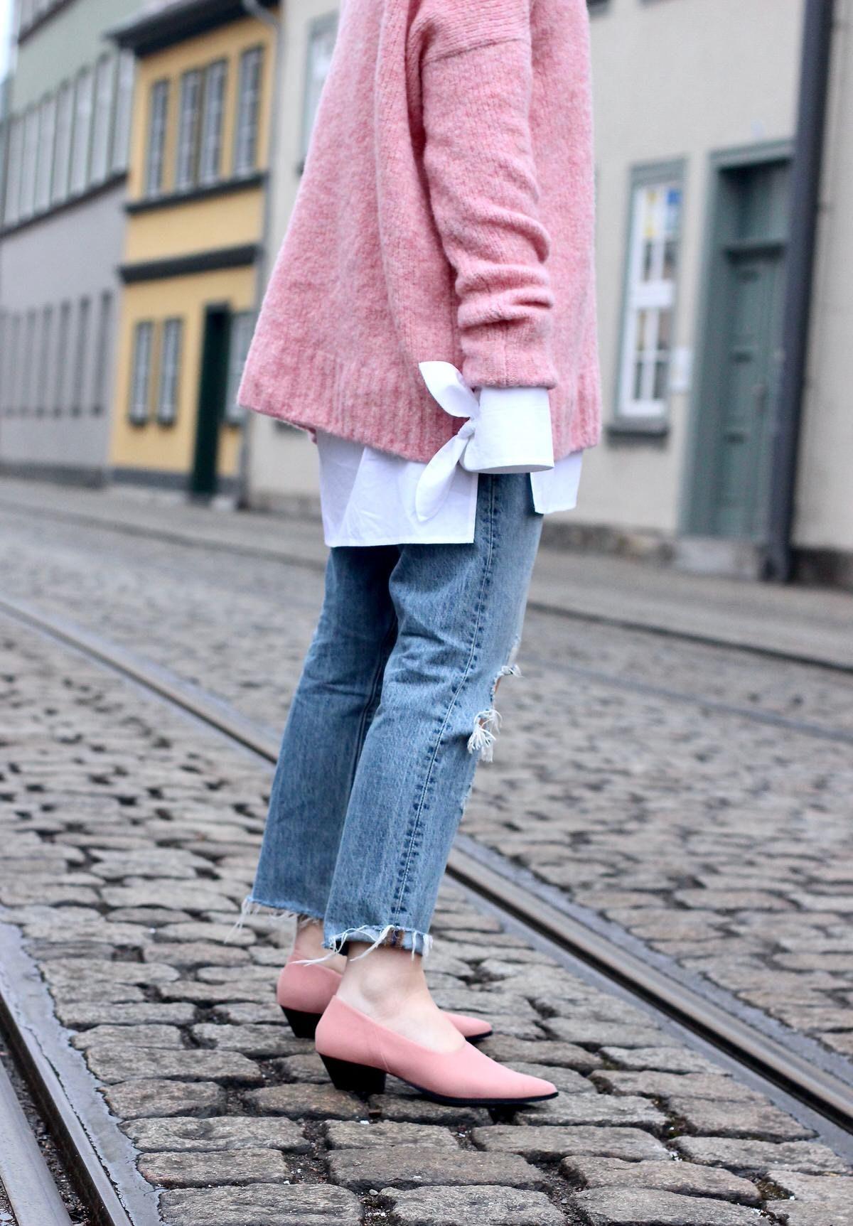 Edited, Levis 501 CT Jeans, Max&Co., Pandora, H&M Pumps
