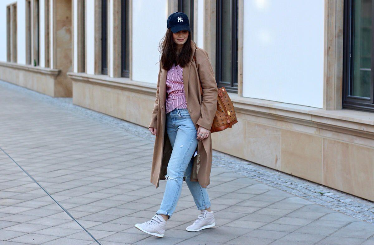 MCM, Reebok x Face Stockholm, Sneaker, Zalando, New York Yankees Cap, Streetstyle