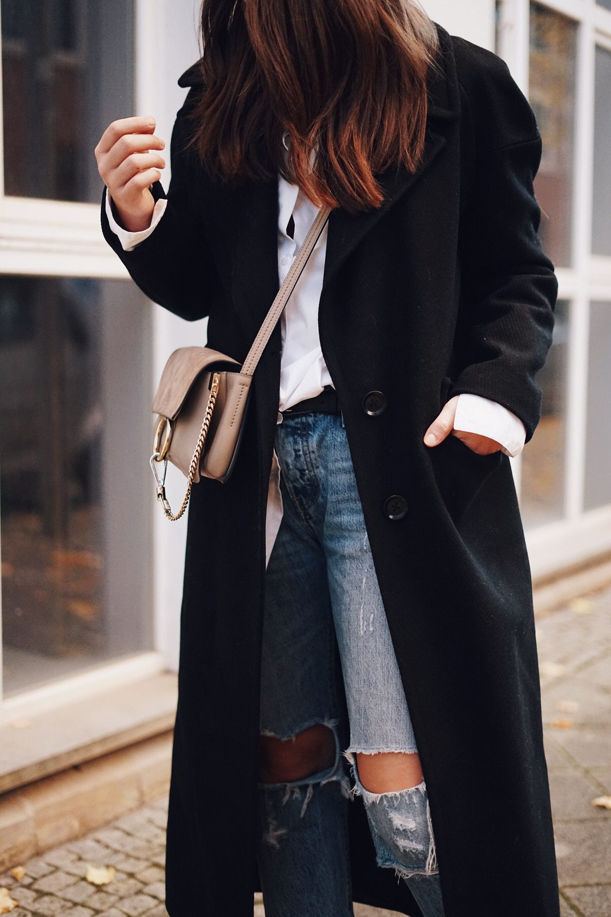 Best Secret, Online-Shop, Streetstyle, Bronx, United Colors of Benneton, Chloé, Levis, American Vintage, Beanie, Mantel, Boots