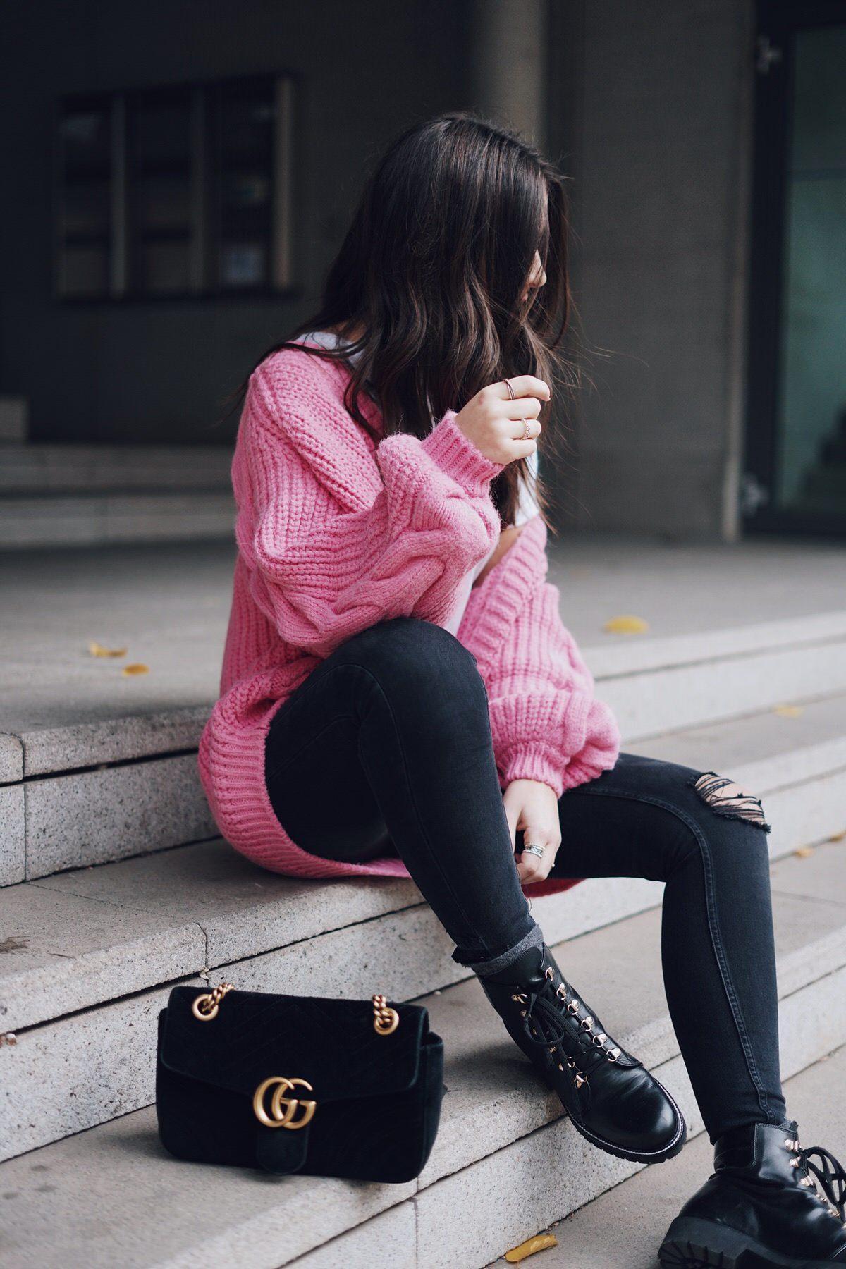 Streetstyle, Gucci Mamont Velvet Samt, Kurt Geiger Boots, Knit, Zara, Fashion, Blogger