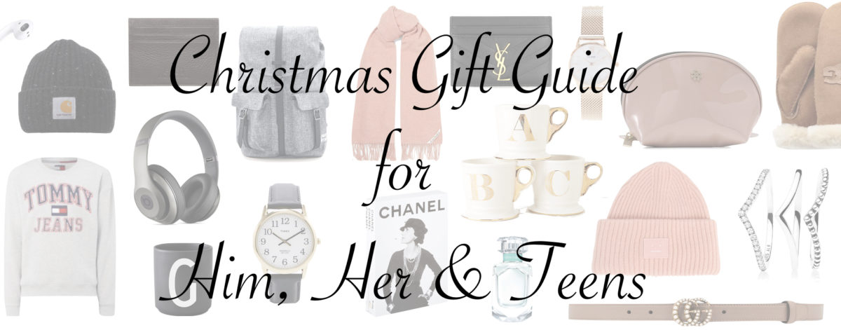 Christmas Gift Guide 2017 | veronique sophie