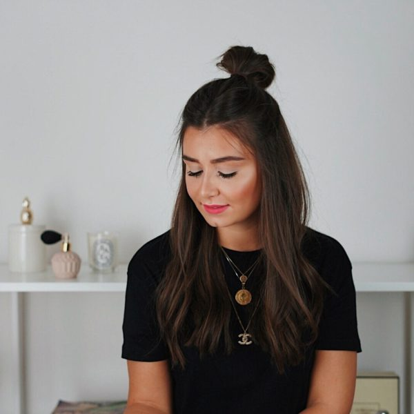 Half Bun, Tutorial, Video, Beauty, Styling, Beauty-Tutorial