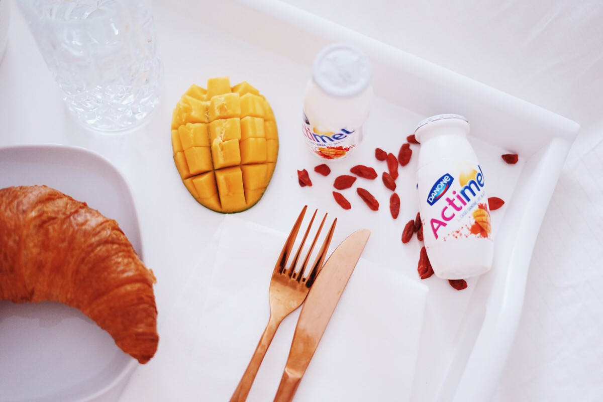 Actimel, Mango-Kurkuma-Goji, Danone, Spring Bucket-List, Shake up Winter, Startklar, Frühstücksdrink, Immunsystem, Vitamine B6 & D