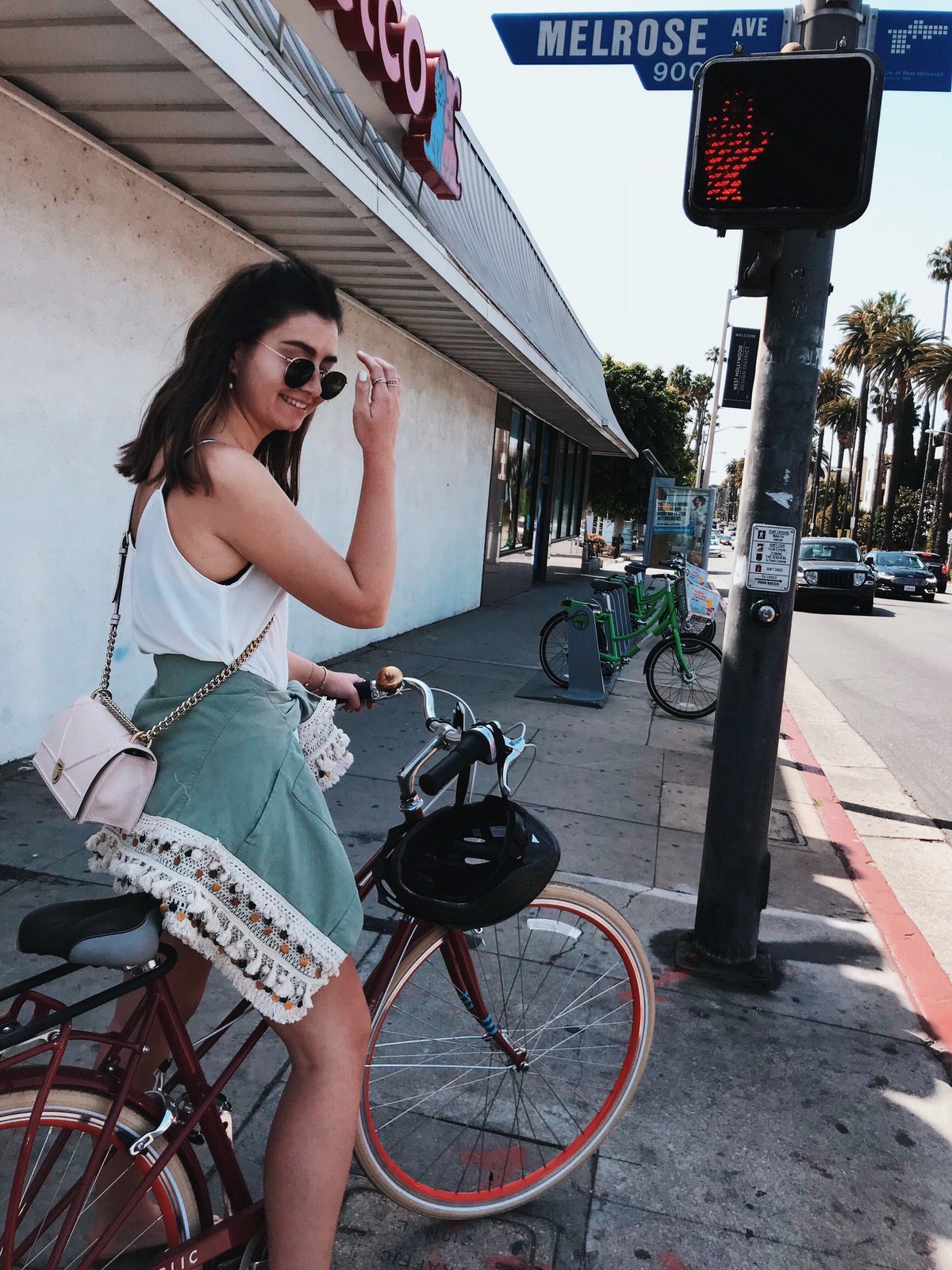 Road Trip, Los Angeles, California, Kalifornien, LA, West Hollywood, Beverly Hills, Bike