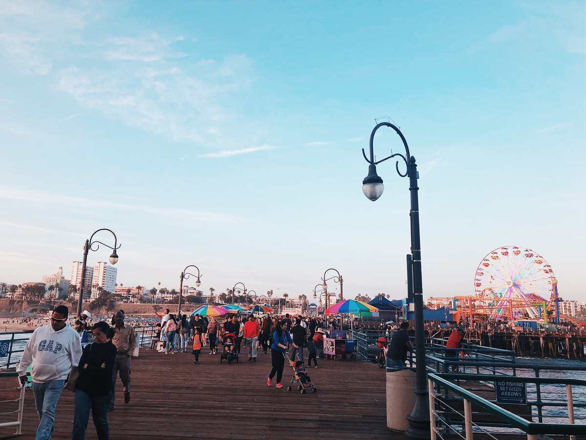 Road Trip, Los Angeles, California, Kalifornien, LA, Santa Monica, Beach, Santa Monica Pier