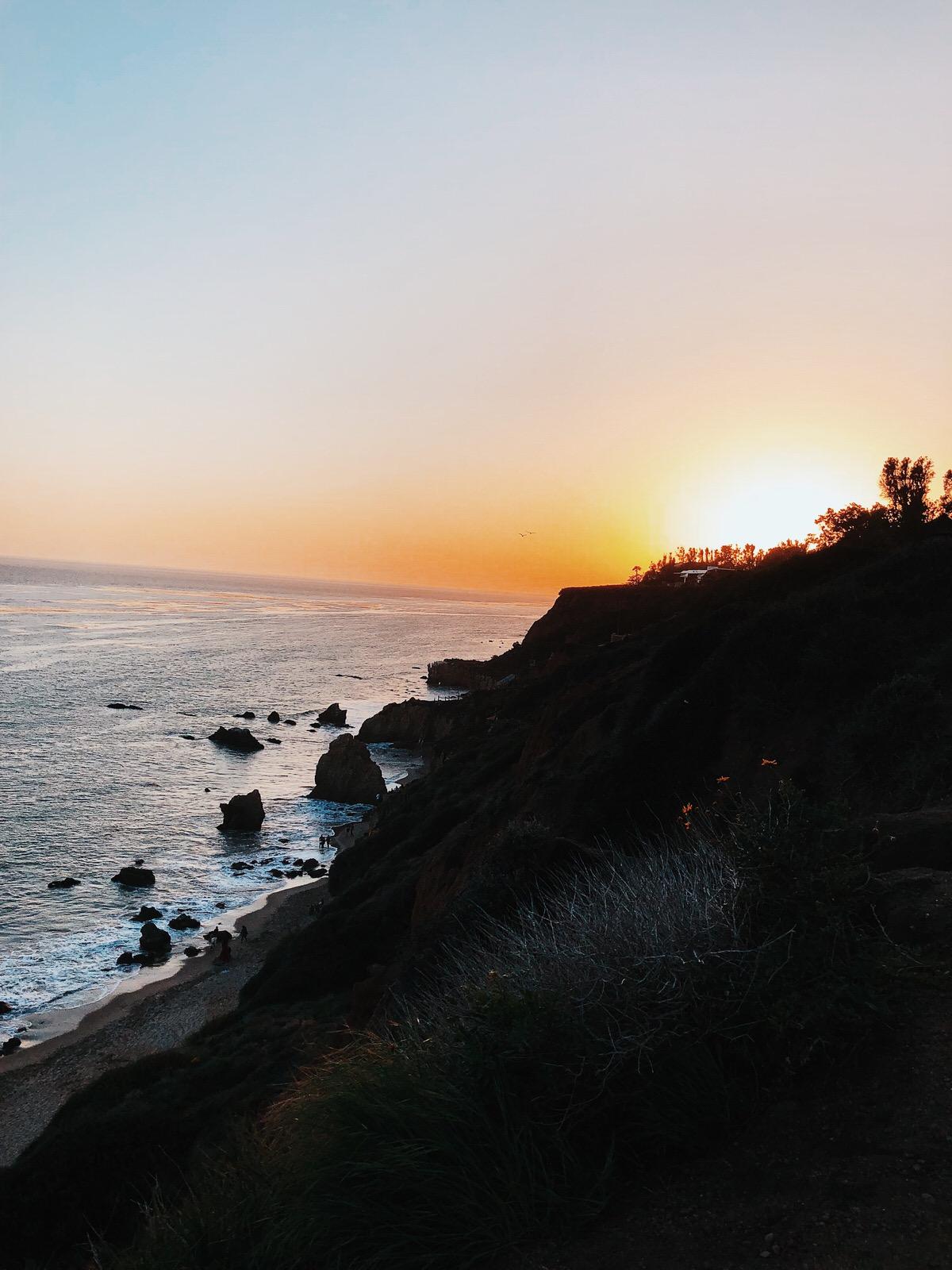 Road Trip, Los Angeles, California, Kalifornien, LA, Malibu Beach, Beach, El Matadore State Beach
