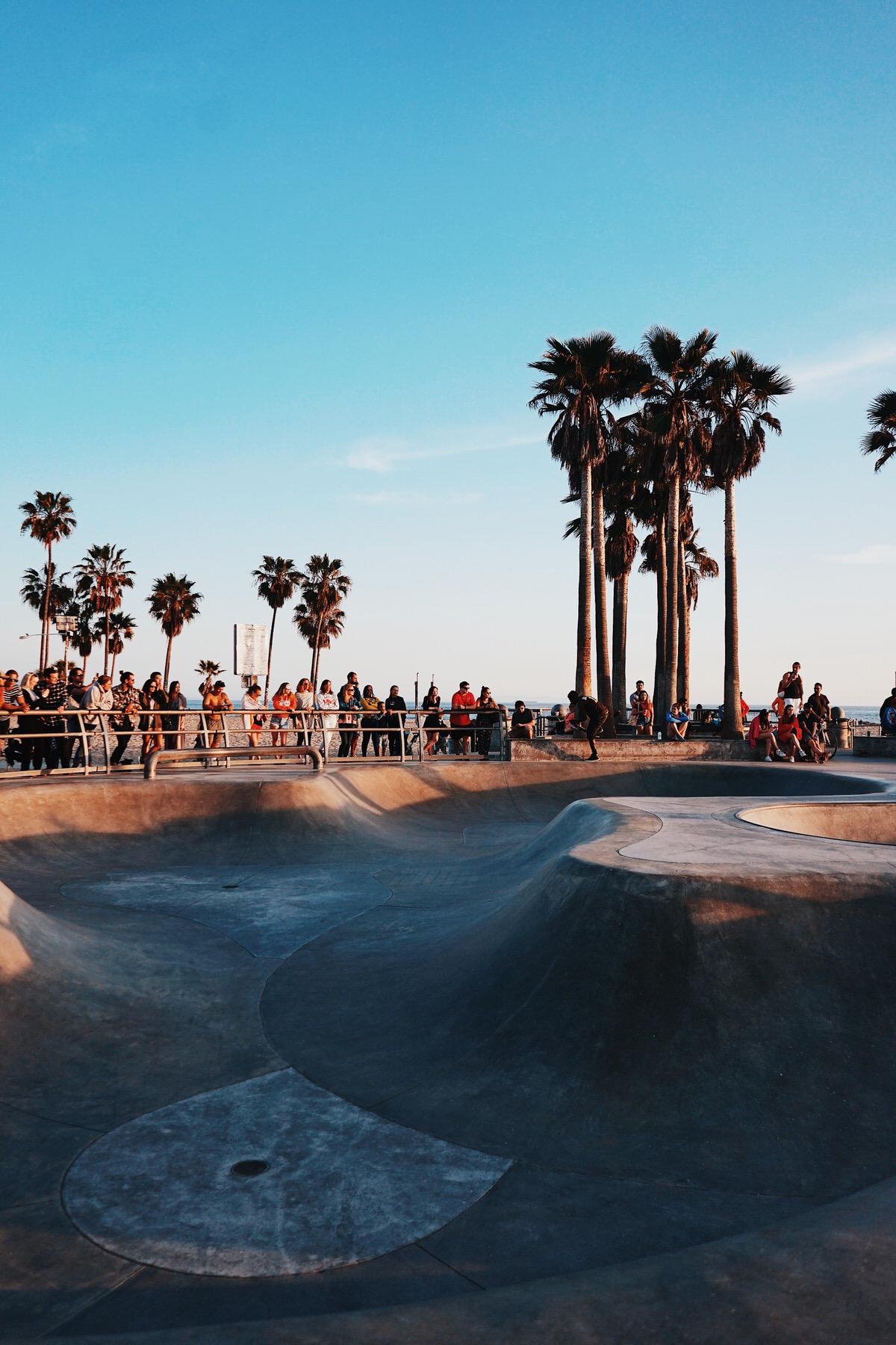 Road Trip, Los Angeles, California, Kalifornien, LA, Venice Beach, Beach, Skatepark