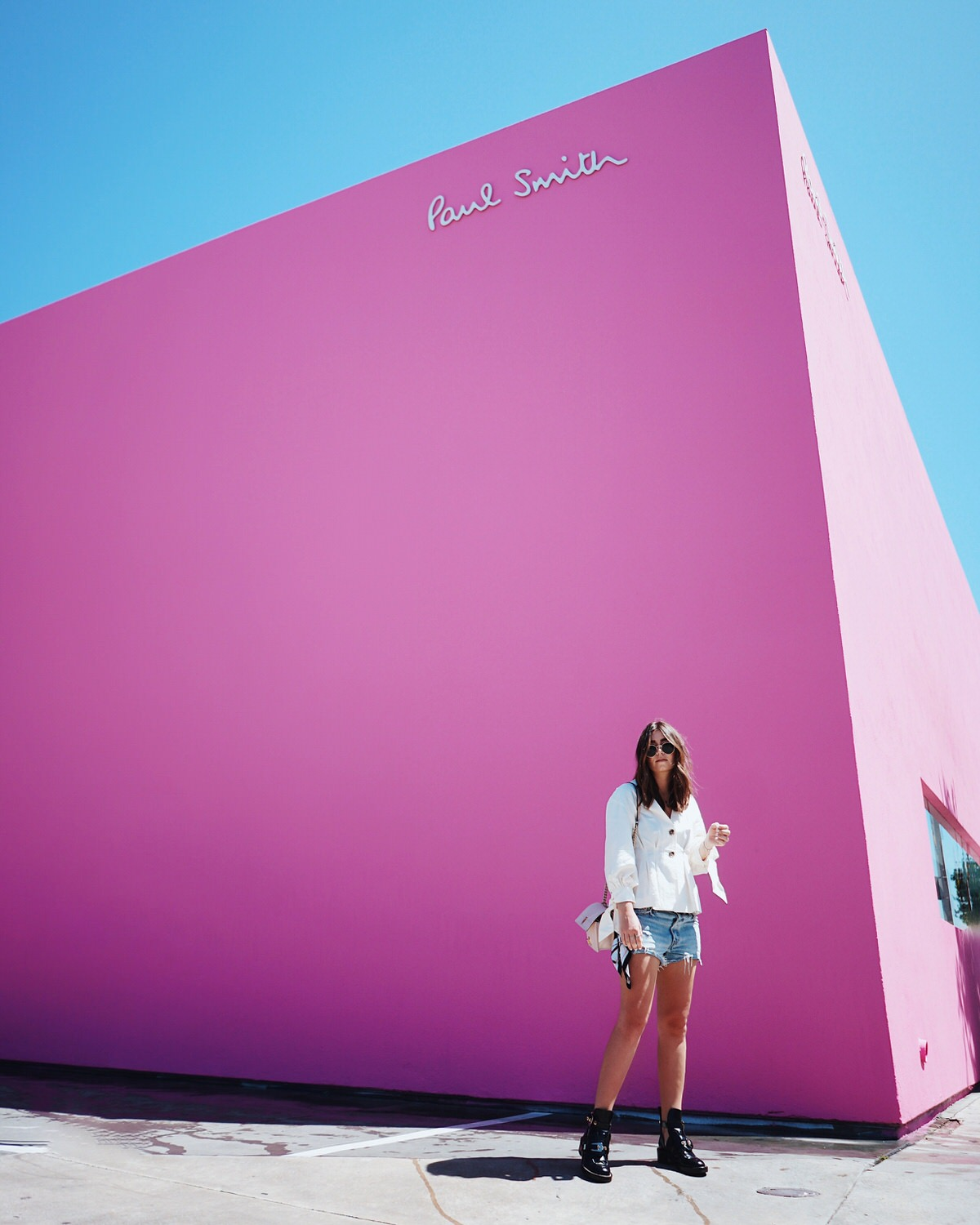 Road Trip, Los Angeles, California, Kalifornien, LA, Paul Smith, Paul Smith Wall, Melrose Ave., Graffiti Wall