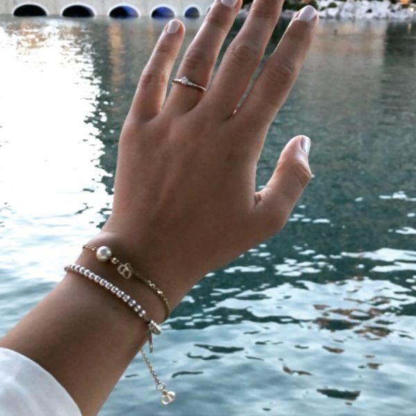 Verlobung, Paar, Couple, Bride to be, engagement, Liebe, Tiffany & Co., Ring, Verlobungsring, Belaggio, Las Vegas