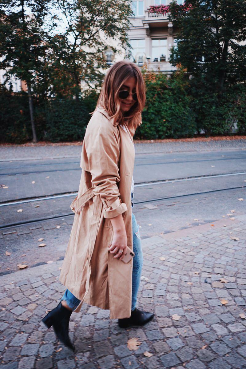 ebay Fashion, Levi's Jeans, Trenchcoat, Streetstyle
